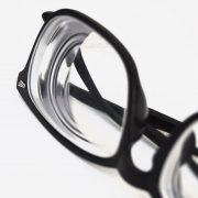 Canva - Black Framed Eyeglasses-min